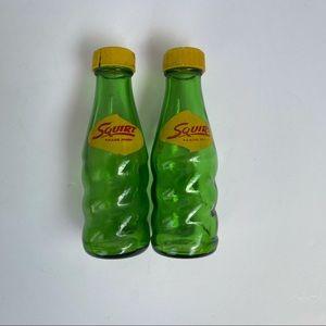 Vintage Squirt bottles salt and pepper shakers